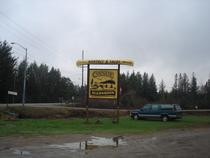 Picture of Canoe Algonquin sign